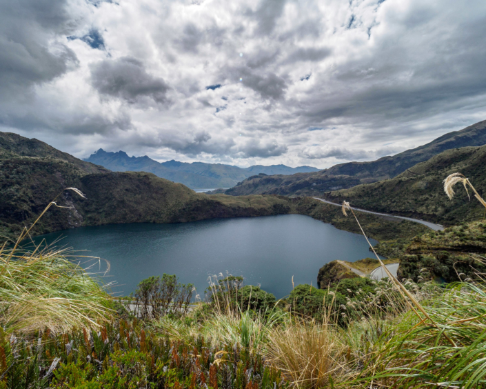 Lagoon at Sanguy National Park, Ecuador