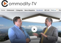 Video interview with Keith Barron and Commodity TV