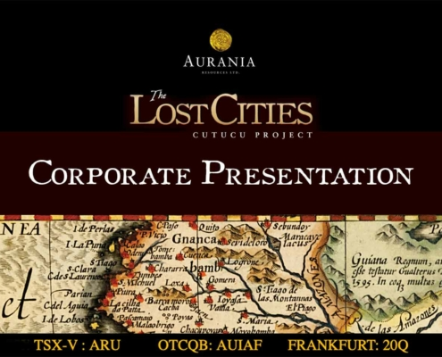 Aurania Corporate Presentation